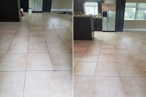 Before & After Tile and Grout Cleaning in Miramar, FL (1)