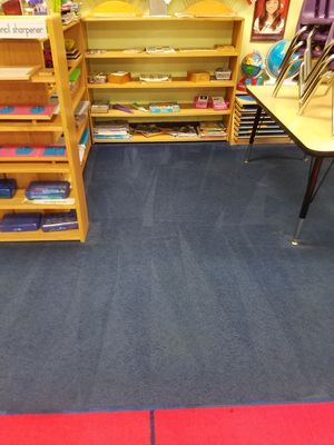 Before & After Carpet Stain Removal by Cowell's Carpet Cleaning, Inc. (2)