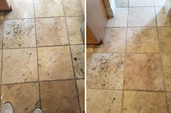 Before & After Stone Cleaning in Lauderhill, FL (1)