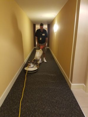 Before, During & After Commercial Carpet Cleaning in Plantation, FL (2)
