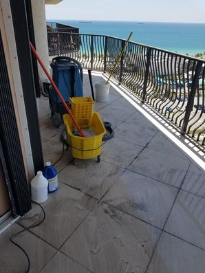 Balcony Tile & Grout Cleaning in Fort Lauderdale, FL (2)