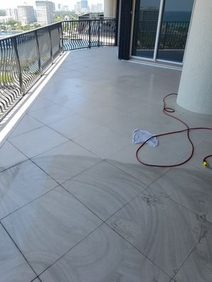 Balcony Tile & Grout Cleaning in Fort Lauderdale, FL (3)