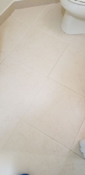 Before & After Tile & Grout Cleaning in Pompano Beach, FL (2)