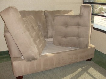 Upholstery Cleaning of Microfiber love seats in Fort Lauderdale, FL